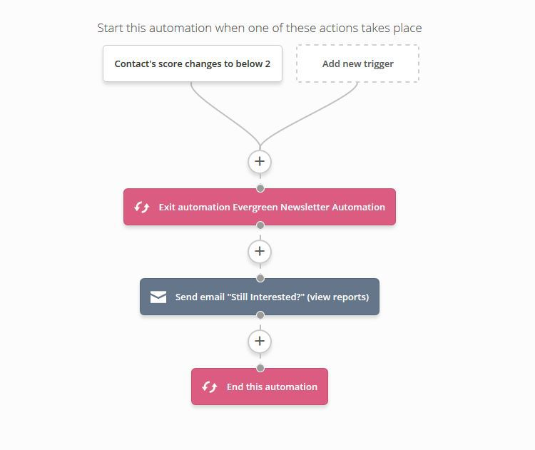 Newsletter pruning automation